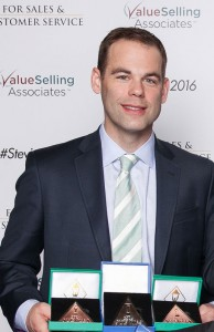 Matt Gilbo, Varonis Vice President of West Coast Sales, accepted the Stevie Awards on behalf of the company at the ceremony in Las Vegas on March 4.